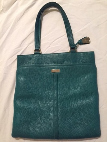 Cole Haan Village Marcy Market Tote in Emerald Green Image 1
