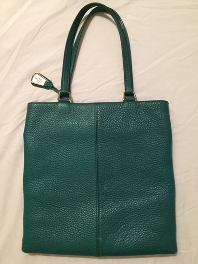 Cole Haan Village Marcy Market Tote in Emerald Green Image 2