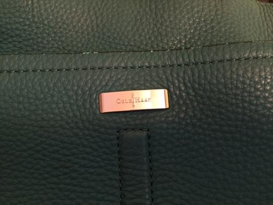 Cole Haan Village Marcy Market Tote in Emerald Green Image 3