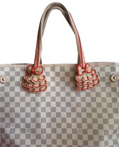 Handmade Handle Covers For Louis Vuitton Neverful GM MM Tan red