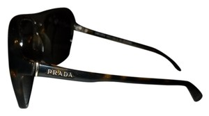 Prada Prada spr 15m tortoise brown aviator sunglasses