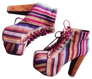 Jeffrey Campbell Multicolor Mules