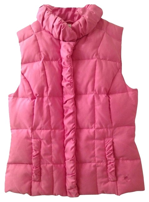 Item - Hibiscus Pink Karin Puffer Vest Size 4 (S)