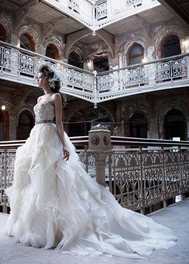 Lazaro 3153 Wedding Dress