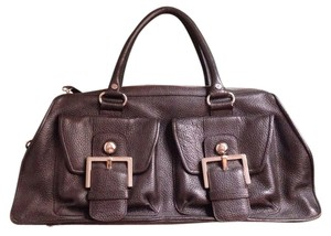 BCBGMAXAZRIA Satchel in Rich Brown