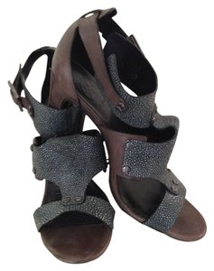 Tory Burch Gladiatior Taupe/Gray Sandals