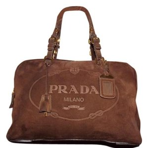 Brown Prada Weekend   Travel Bags - Up to 90% off at Tradesy 94d158bbe7c60