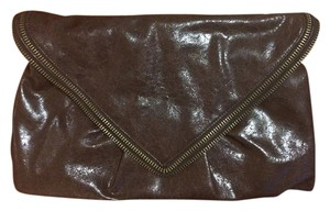 Matt and Nat Vegan Brown Clutch