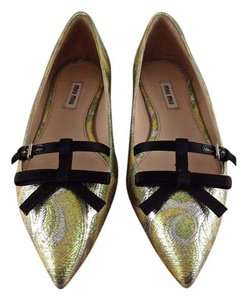 Miu Miu yellow Flats