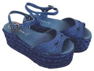 Jeffrey Campbell Navy blue Sandals