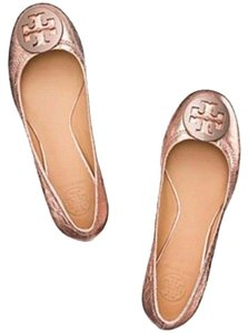 Tory Burch Rose Gold Flats