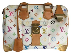 Louis Vuitton Lv Gold Hardware Speedy 30 Shoulder Bag