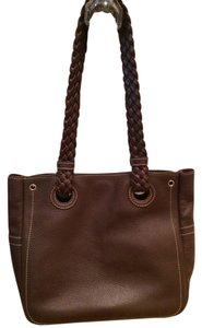 Nordstrom Leather Leather Purse Tote in Brown