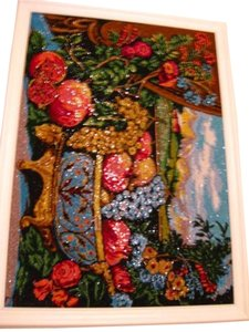 Other Embroidery Beadwork Picture Canvas Handmade Approx. 67,580 Beads