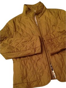 Burberry Quilted Brown/Gold Jacket
