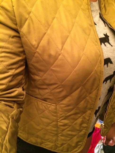 Burberry Quilted Brown/Gold Jacket Image 5