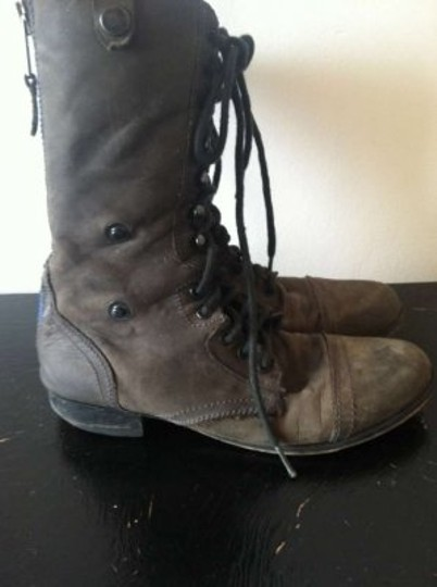 Steven by Steve Madden Charcoal Grey Boots