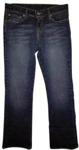 Lucky Brand Women's Mid-rise Boot Cut Jeans-Dark Rinse