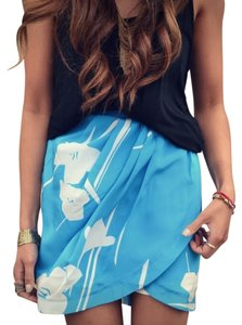 Yumi Kim Skirt Blue, White