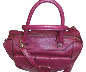 Other Cross Body Handbag Unknown Satchel in Purple/red