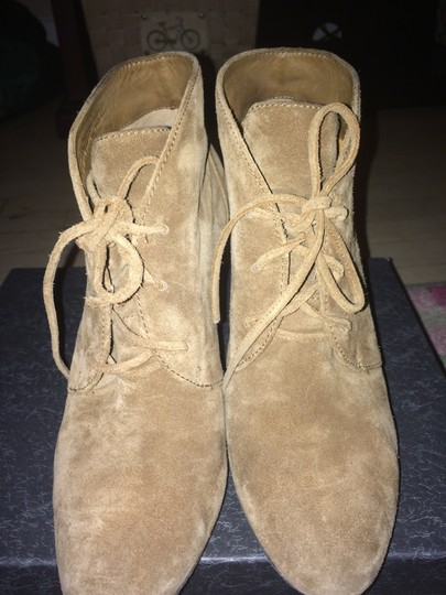 Via Spiga Suede V--sophie Medium Size 8 Winter CASHEW / BEIGE / BROWN Boots