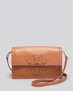 Tory Burch Jessica Leather Pebbled Leather New Strap Shoulder Bag