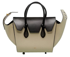 Céline Tote in White & Black