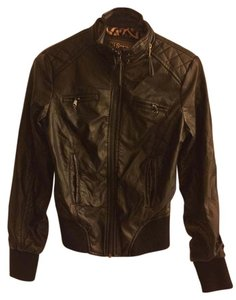 Ci Sono Faux Leather Fashion Motorcycle Jacket