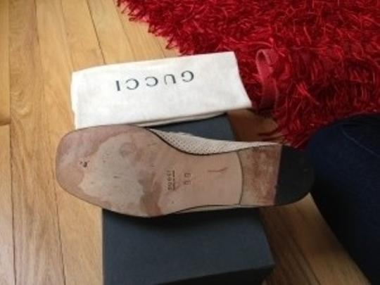 Gucci Loafers Comes With Box And Dust Bag nude Flats