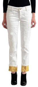 Just Cavalli Capri/Cropped Pants White