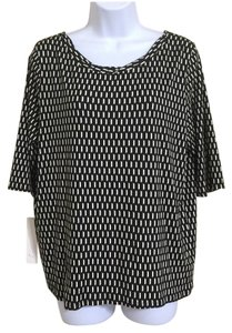 Weston Wear Top Black And White