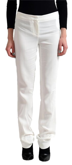 Item - White Women's Flat Front Casual Pants Size 4 (S, 27)