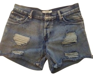 Boyfriend Coupe Garconniere Pre-owned Weared Once Free Shipping Denim Shorts-Distressed