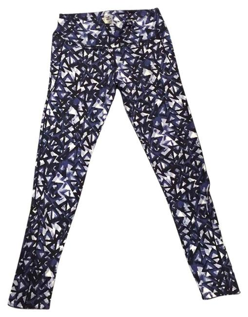 Item - Blue and White Activewear Bottoms Size 8 (M, 29, 30)