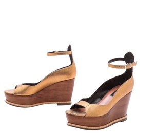 Derek Lam Gold Wedges