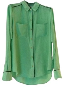 Juicy Couture Top Green (dark mint shade)