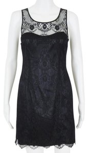 A|X Armani Exchange Lace Keyhole Back Dress