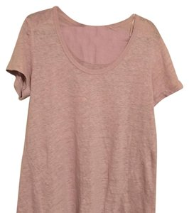 Cynthia Rowley T Shirt Pale pink blush