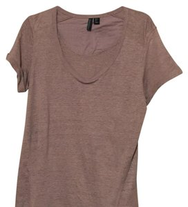 Cynthia Rowley T Shirt Pale plum