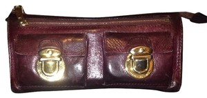Marc Jacobs Marc Jacobs Zip Clutch Wallet in Eggplant