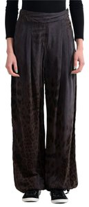 Roberto Cavalli Gym Wide Leg Pants Deep Purple