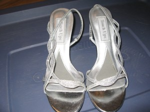 Touch Ups Touch Ups Randi Size 6.5 M - Silver Wedding Shoes