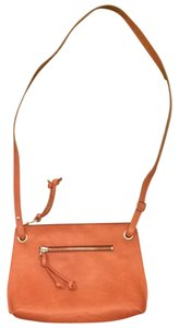 Roots Leather Travel Cross Body Bag