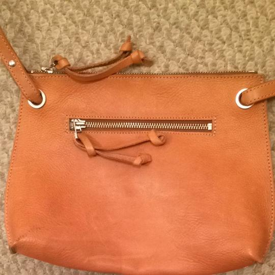 Roots Leather Travel Genuine Canada Rootscanada Canadian Genuineleather Designer Quality Casual Beige Nude Cross Body Bag