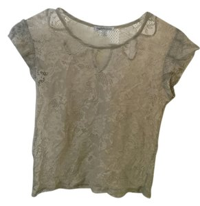 Charlotte Russe Top Grey