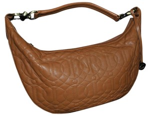 Donald J. Pliner Quilted Leather Shoulder Bag