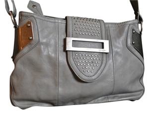 Jessica Simpson Studded Leather Cross Body Bag