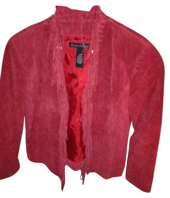 Preload https://img-static.tradesy.com/item/1592118/dialogue-red-leather-jacket-size-2-xs-0-0-650-650.jpg