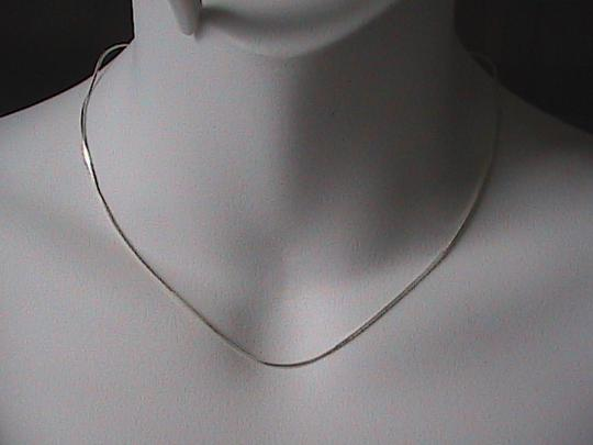 Vintage Italy Sterling Silver Snake Chain Style