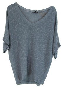 Eileen Fisher Sheer Knit Oversized Dolman Sleeve Sweater